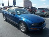 2007 Vista Blue Metallic Ford Mustang V6 Premium Convertible #71132082