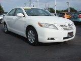 2008 Super White Toyota Camry XLE V6 #71132678