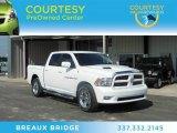 2011 Bright White Dodge Ram 1500 Laramie Crew Cab #71132665
