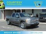 2009 Graystone Metallic Chevrolet Silverado 1500 LT Crew Cab #71132662