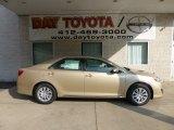 2012 Sandy Beach Metallic Toyota Camry LE #71132042