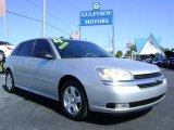 2005 Galaxy Silver Metallic Chevrolet Malibu Maxx LT Wagon #544758
