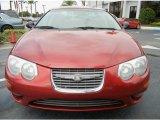 2001 Chrysler 300 Inferno Red Pearl