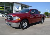 2012 Deep Cherry Red Crystal Pearl Dodge Ram 1500 SLT Quad Cab #71132344