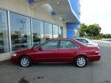 2002 Firepepper Red Pearl Honda Accord SE Sedan #71132577