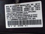 2013 CR-V Color Code for Polished Metal Metallic - Color Code: NH737MX