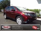 2012 Basque Red Pearl II Honda CR-V EX #71131925