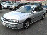 2001 Galaxy Silver Metallic Chevrolet Impala LS #71132251