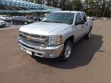 2013 Silver Ice Metallic Chevrolet Silverado 1500 LT Crew Cab 4x4 #71132491