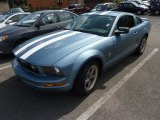 2006 Windveil Blue Metallic Ford Mustang V6 Deluxe Coupe #71194291