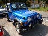 1999 Jeep Wrangler Blue Metallic