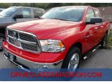 2012 Flame Red Dodge Ram 1500 SLT Quad Cab 4x4 #71194151