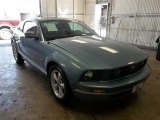 2007 Windveil Blue Metallic Ford Mustang V6 Deluxe Coupe #71193989