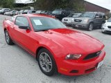 2011 Race Red Ford Mustang V6 Premium Coupe #71193986