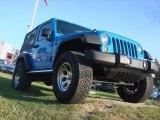 2011 Cosmos Blue Jeep Wrangler Sport 4x4 #71194132
