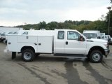 2012 Ford F350 Super Duty XL SuperCab 4x4 Utility Truck Data, Info and Specs