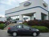 2013 Violet Gray Ford Fiesta S Sedan #71193956