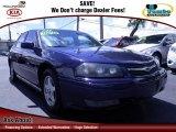 2001 Navy Blue Metallic Chevrolet Impala LS #71194210
