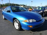 Bright Aqua Metallic Chevrolet Cavalier in 1998