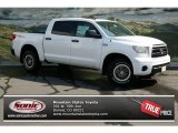2013 Super White Toyota Tundra TRD Rock Warrior CrewMax 4x4 #71193898