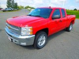 2013 Victory Red Chevrolet Silverado 1500 LT Extended Cab #71222494