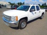 2012 Summit White Chevrolet Silverado 1500 LT Crew Cab #71222492