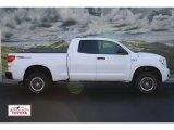 2010 Super White Toyota Tundra TRD Rock Warrior Double Cab 4x4 #71222462