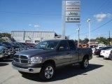 2007 Mineral Gray Metallic Dodge Ram 1500 ST Quad Cab 4x4 #71227355