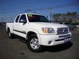 Natural White Toyota Tundra in 2005