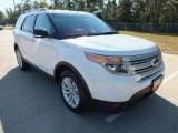 2013 Oxford White Ford Explorer XLT #71227789