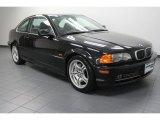 2001 Jet Black BMW 3 Series 330i Coupe #71227533