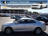 2013 Silver Ice Metallic Chevrolet Malibu LT #71227754
