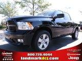2012 Black Dodge Ram 1500 Express Crew Cab #71227274
