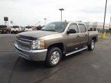 2013 Mocha Steel Metallic Chevrolet Silverado 1500 LT Crew Cab #71227516