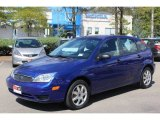 2005 Sonic Blue Metallic Ford Focus ZX5 SE Hatchback #71227721