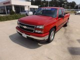 2006 Victory Red Chevrolet Silverado 1500 LT Extended Cab #71227493