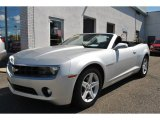 2012 Silver Ice Metallic Chevrolet Camaro LT Convertible #71227231