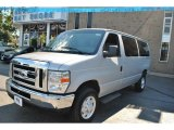 2008 Silver Metallic Ford E Series Van E350 Super Duty XLT Passenger #71227692