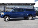 2005 Spectra Blue Mica Toyota Tundra Limited Double Cab 4x4 #71227435