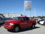 2002 Flame Red Dodge Ram 1500 Sport Quad Cab 4x4 #71227357