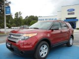 2013 Ruby Red Metallic Ford Explorer FWD #71275014