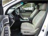 2013 Ford Explorer Limited EcoBoost Medium Light Stone Interior