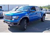 2012 Blue Flame Metallic Ford F150 SVT Raptor SuperCrew 4x4 #71274988