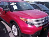 2011 Red Candy Metallic Ford Explorer XLT 4WD #71274987
