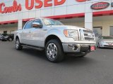 2010 Ingot Silver Metallic Ford F150 Lariat SuperCrew 4x4 #71274957