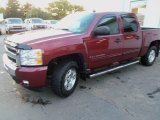 2009 Deep Ruby Red Metallic Chevrolet Silverado 1500 LT Crew Cab 4x4 #71274927