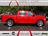 2012 Flame Red Dodge Ram 1500 Express Crew Cab 4x4 #71275575