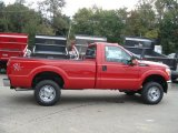 2012 Vermillion Red Ford F250 Super Duty XL Regular Cab 4x4 #71274902