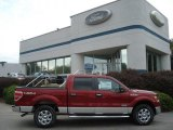 2013 Ruby Red Metallic Ford F150 XLT SuperCrew 4x4 #71274897