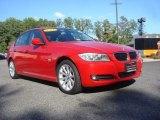 2011 Crimson Red BMW 3 Series 328i xDrive Sedan #71274895